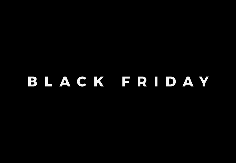 Black Friday — černý pátek — 2017 — předvánoční slevy