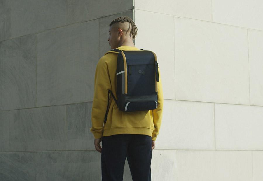 Pinqponq — Changeant — šanžánové batohy — PET recycled backpacks
