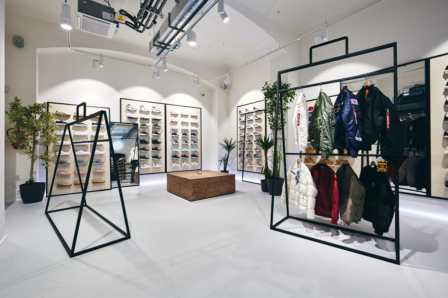 Queens — Flagship Store — nová prodejna — Praha — Jindřišská 16