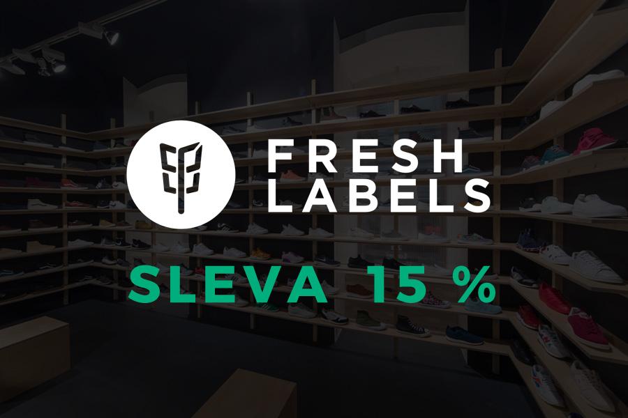 Narozeniny Freshlabels — 11% sleva
