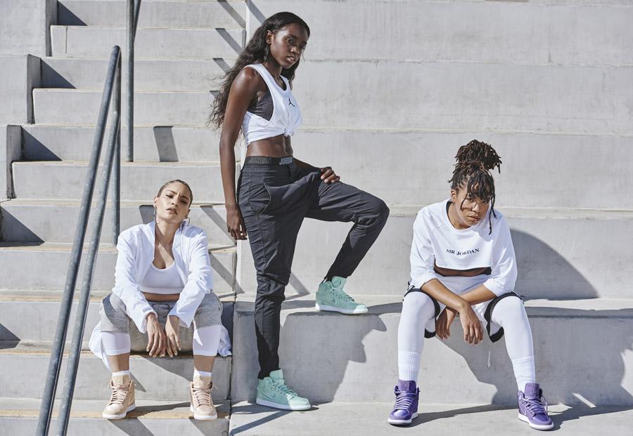 Dámské kotníkové Nike Air Jordan1 Retro High — 10 barevných verzí