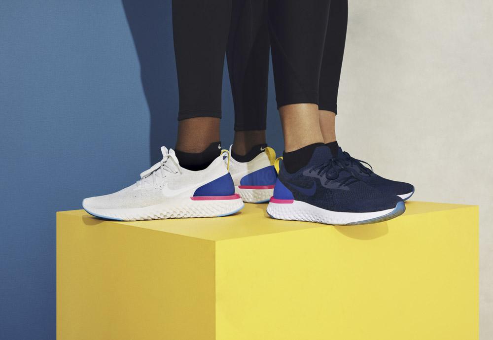 Nike Epic React Flyknit — boty — tenisky — sneakers