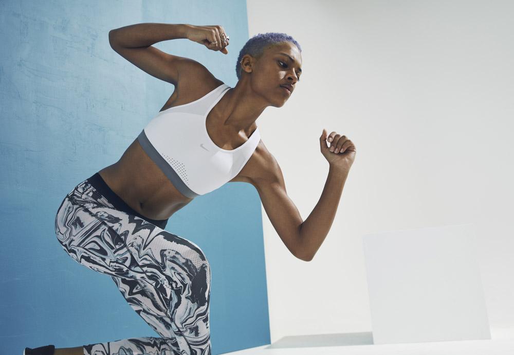 Adaptivní sportovní podprsenky Nike Motion Adapt