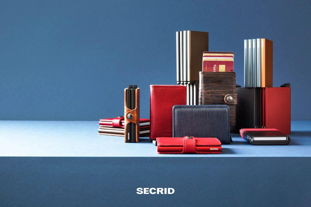 Secrid — bezpečnostní peněženky s ochranou RFID platebních karet — RFID cards safety wallet