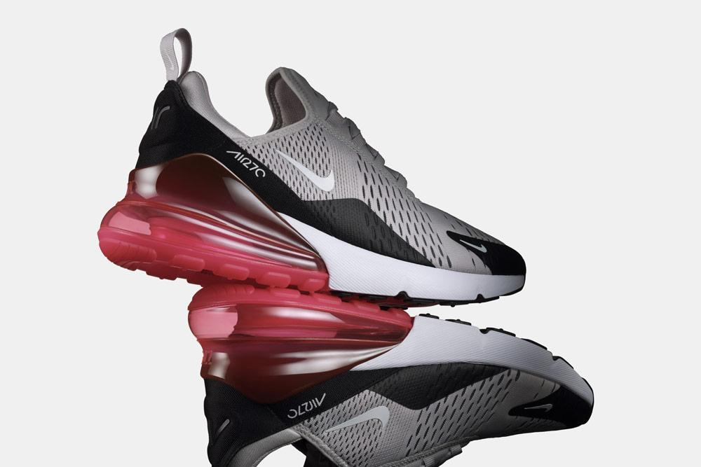 Nike Air Max 270 — boty — tenisky — pánské, dámské — Airmaxy — men's and women's sneakers — shoes