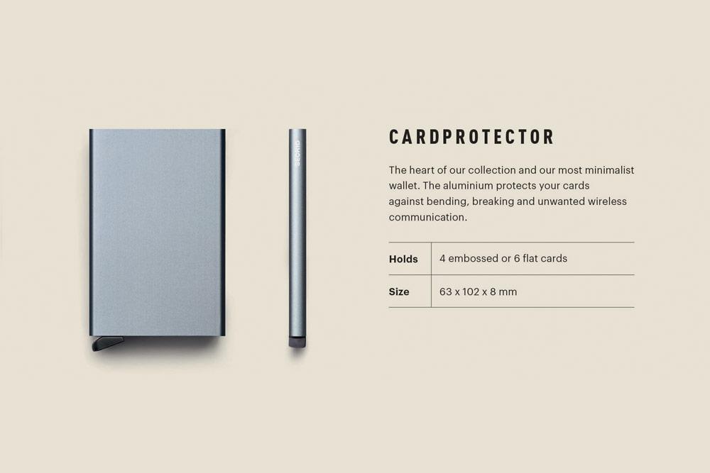 Secrid — Cardprotector — ochrana RFID platebních karet
