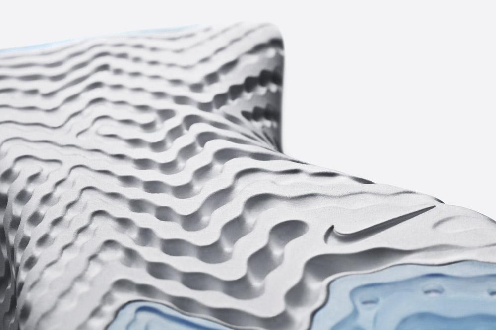 Nike Epic React Flyknit — podrážka — detail