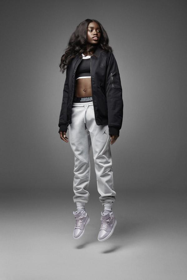 Nike Air Jordan 1 Retro High — dámské kotníkové boty — tenisky — světle fialové — women's sneakers — light purple