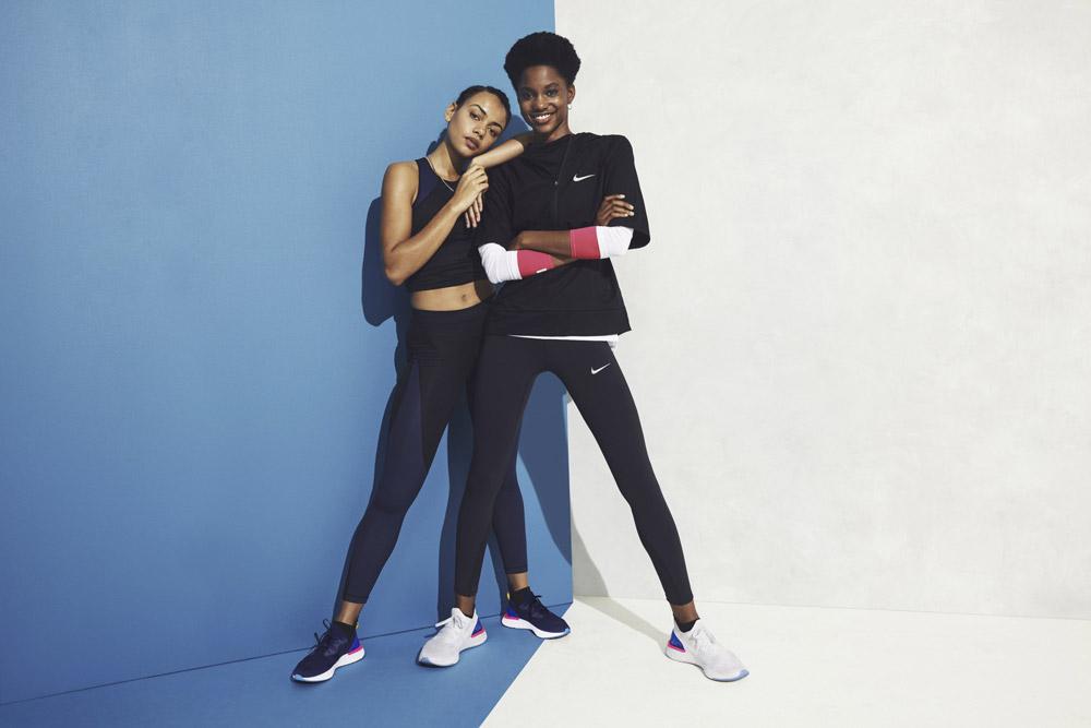 Nike Epic React Flyknit — boty — tenisky — sneakers — lookbook