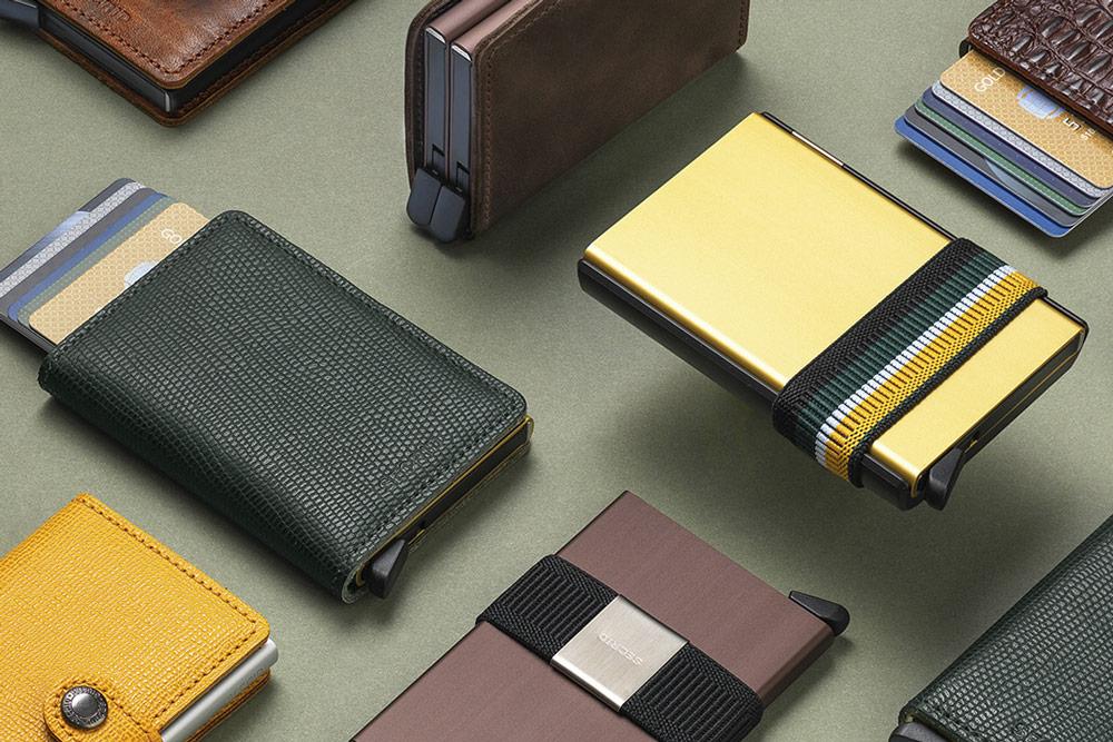 Secrid — bezpečnostní peněženky s ochranou RFID platebních karet — RFID cards safety wallets
