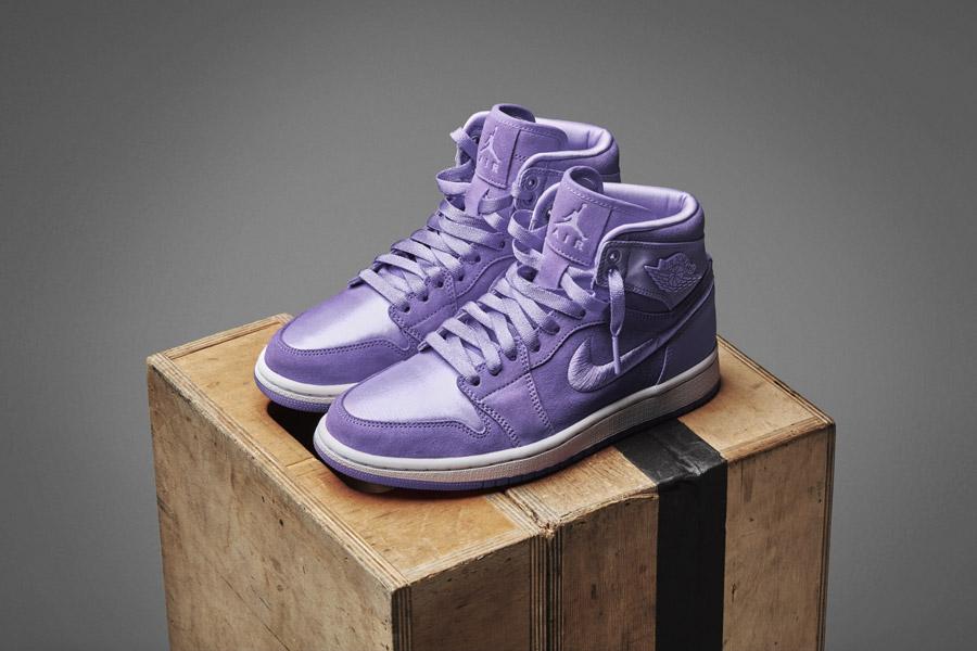 Nike Air Jordan 1 Retro High — dámské kotníkové boty — tenisky — fialové — women's sneakers — purple