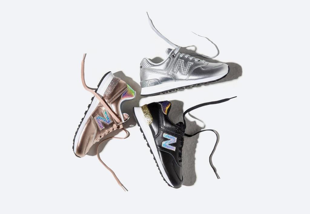 """New Balance 574 """"Glitter Pack"""" — dámské tenisky se třpytkami"""