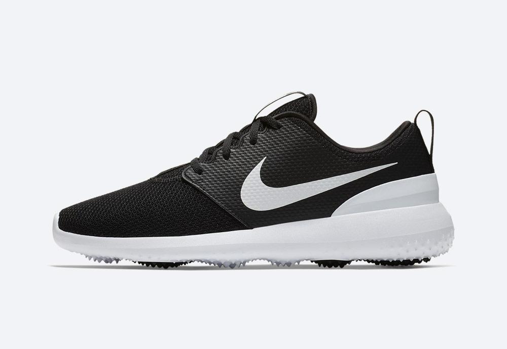 Nike Roshe G — golfové boty — pánské — dámské — černé — golfová obuv — golf shoes