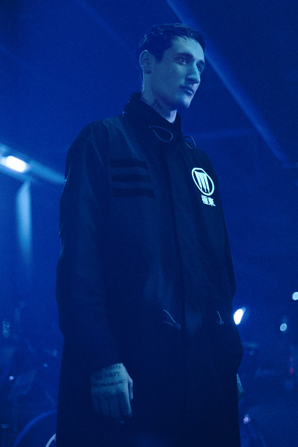 adidas Originals x Neighborhood — sportovní oblečení — M-51 — dlouhá černá parka s kapucí — black parka —