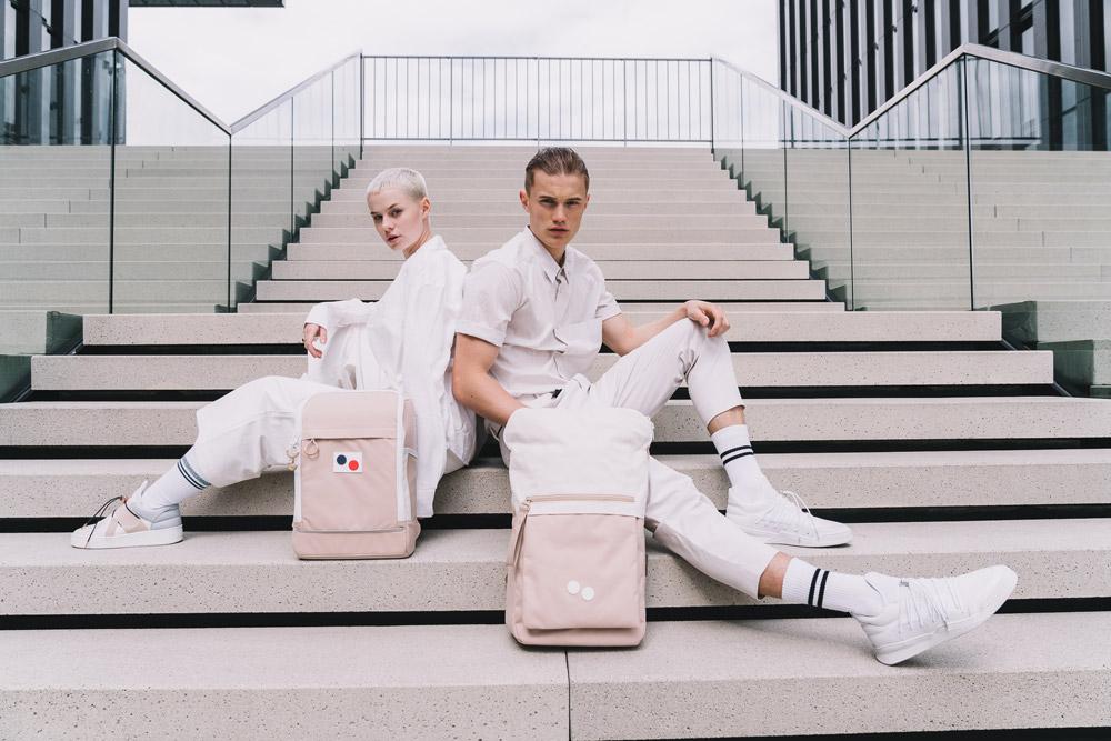 Pinqponq — béžový batoh Cubik — béžový batoh Klak — backpacks — jaro/léto 2018
