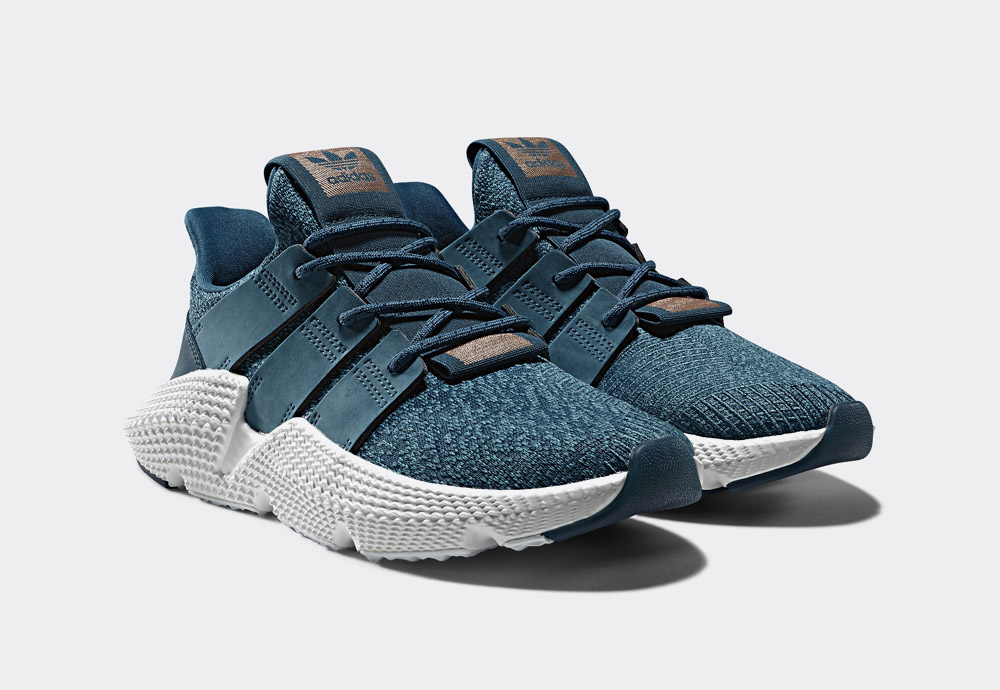 adidas Originals Prophere — boty — tenisky — dámské — modré — sneakers — shoes — women's