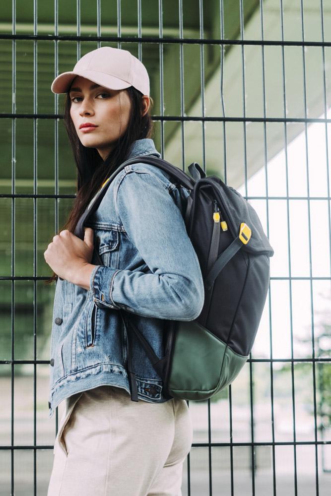 Aevor — Daypack — zeleno-černý batoh recyklovaný z PET lahví — sustainable backpack — jaro/léto 2018