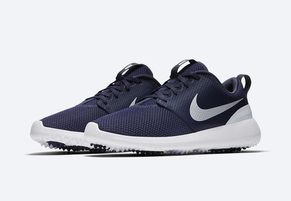 Nike Roshe G — golfové boty — pánské — modré — golfová obuv — golf shoes