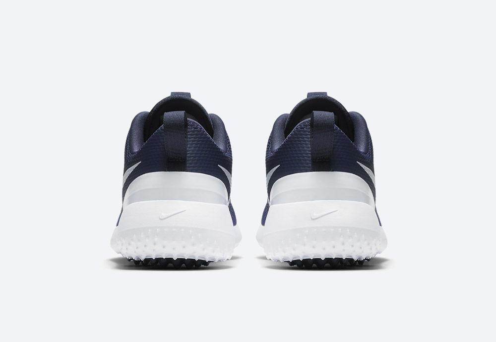 Nike Roshe G — golfové boty — pánské — modré — golfová obuv — zadní pohled — golf shoes
