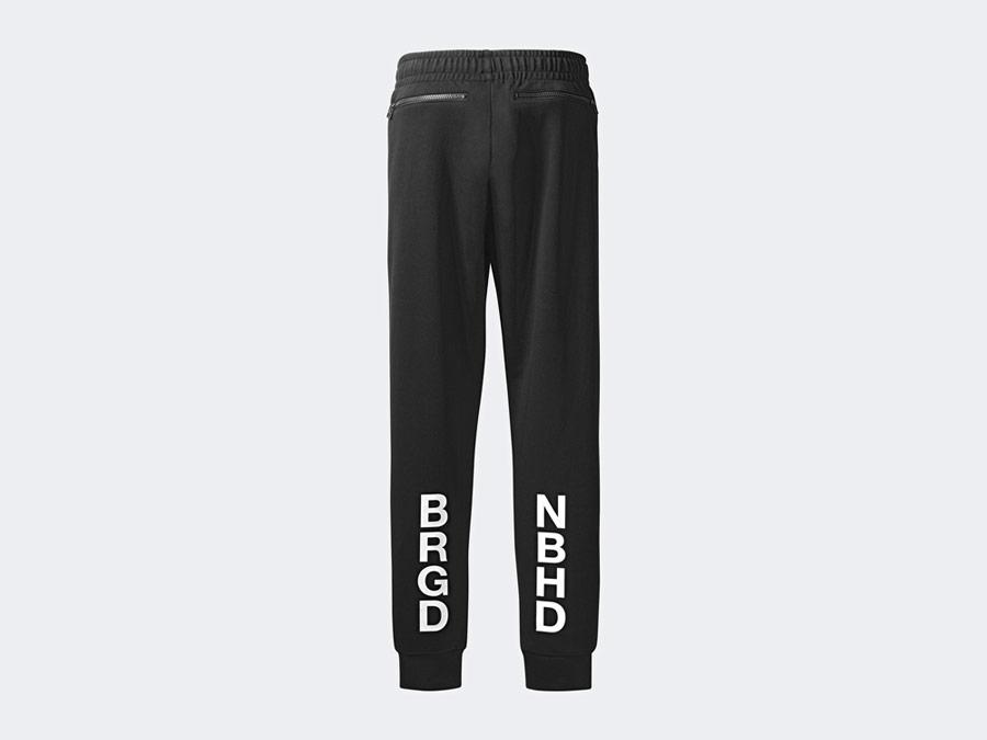 adidas Originals x Neighborhood — Track Pants — černé tepláky — pánské, dámské — black pants