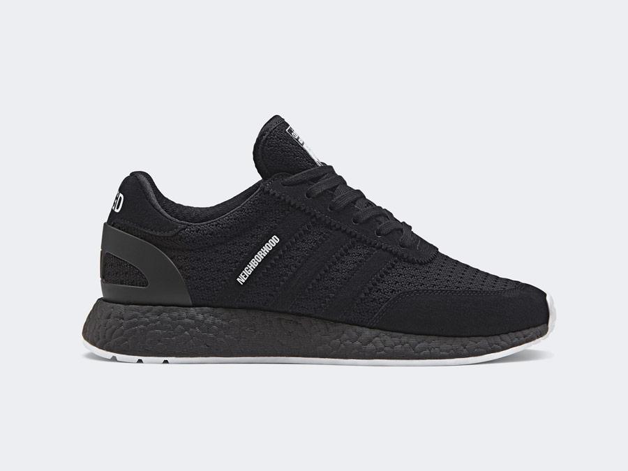 adidas Originals x Neighborhood — I-5923 — černé tenisky — boty — pánské, dámské — black sneakers, shoes