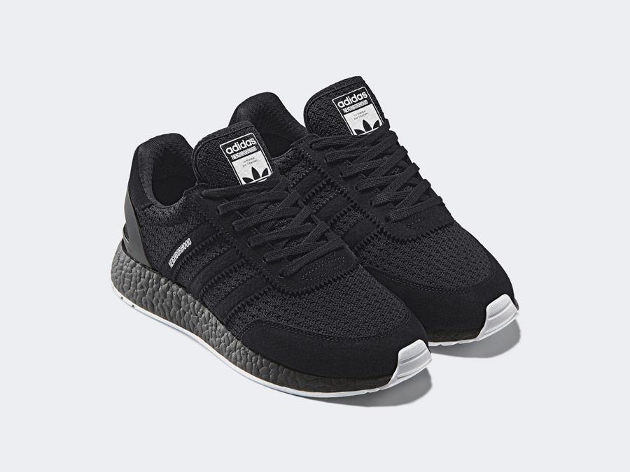 adidas Originals x Neighborhood — I-5923 — černé boty — tenisky — pánské, dámské — black sneakers, shoes