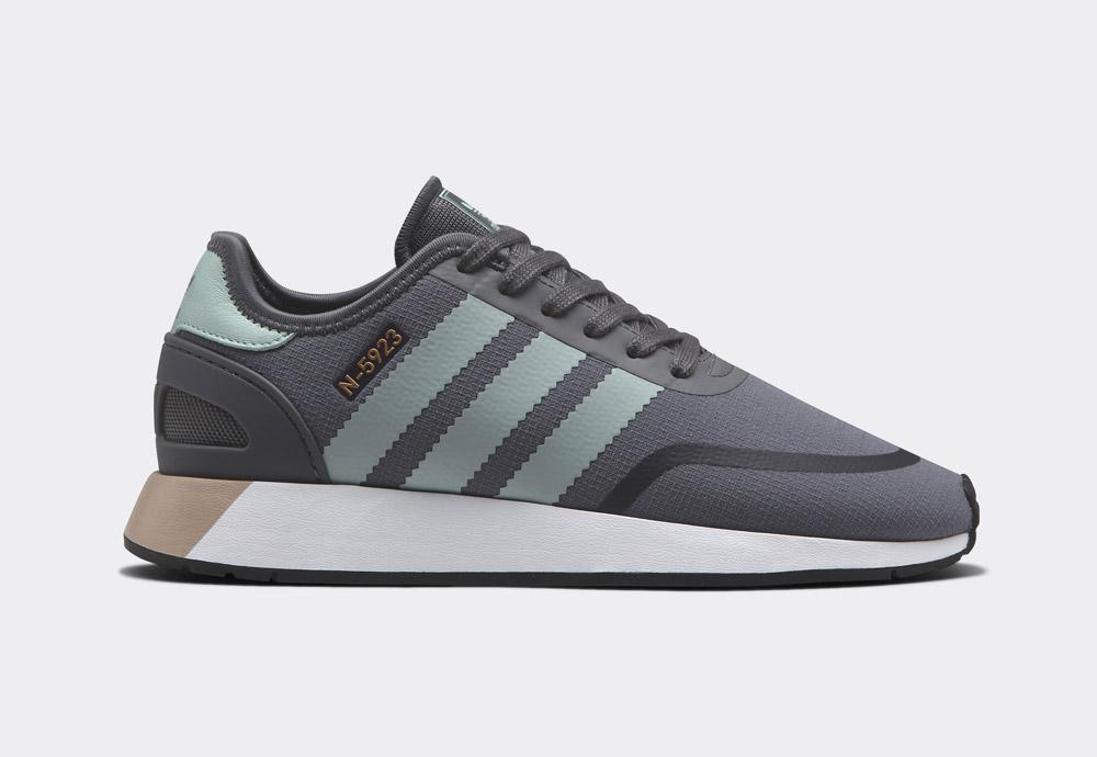 adidas Originals N-5923 — dámské boty — tenisky — šedé — womens sneakers, shoes — Street Pack