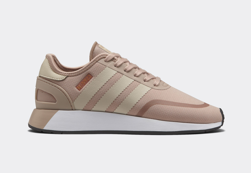 adidas Originals N-5923 — dámské boty — tenisky — světle růžové, perlové — womens sneakers, shoes — Street Pack
