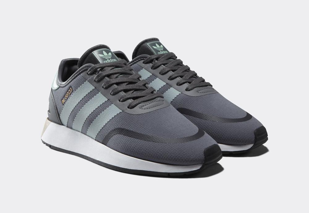 adidas Originals N-5923 — dámské tenisky — boty — šedé — womens sneakers, shoes — Street Pack