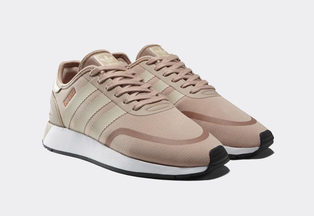 adidas Originals N-5923 — dámské tenisky — boty — světle růžové, perlové — womens sneakers, shoes — Street Pack