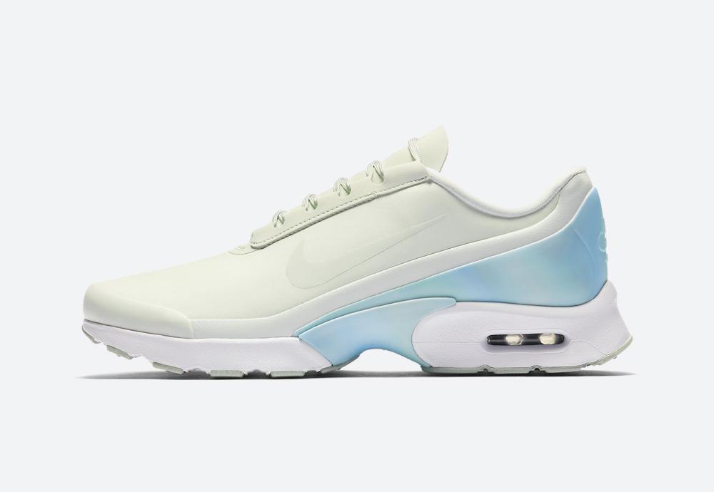 Nike Air Max Jewell Premium — dámské boty — tenisky — světle zelené, světle modré — womens sneakers, shoes