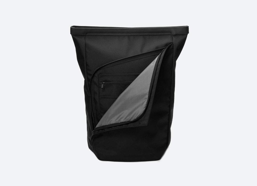 Opposethis — Invisible Backpack One — black — černý batoh — nepromokavý — voděodolný
