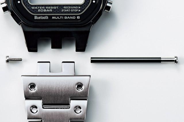 Casio G-shock — GMW-B5000 — díly