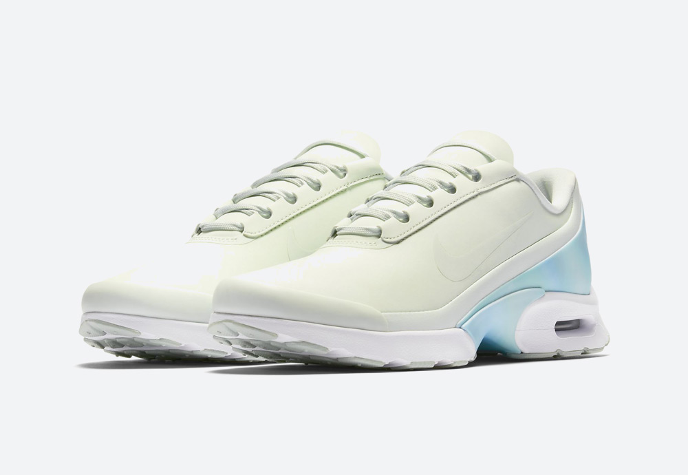 Nike Air Max Jewell Premium — dámské tenisky — boty — světle zelené, světle modré — womens sneakers, shoes