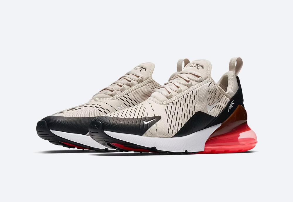 Nike Air Max 270 — boty — tenisky — pánské — Airmaxy — krémové — men's sneakers — white cream