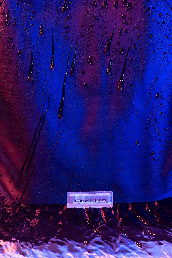 Ucon Acrobatics — černý batoh — nepromokavý — waterproof, vegan, sustainable, urban — jaro/léto 2018