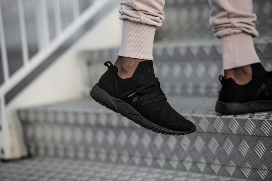 ARKK Copenhagen — Raven FG — boty — tenisky — černé — pánské, dámské — mens and womens sneakers — black