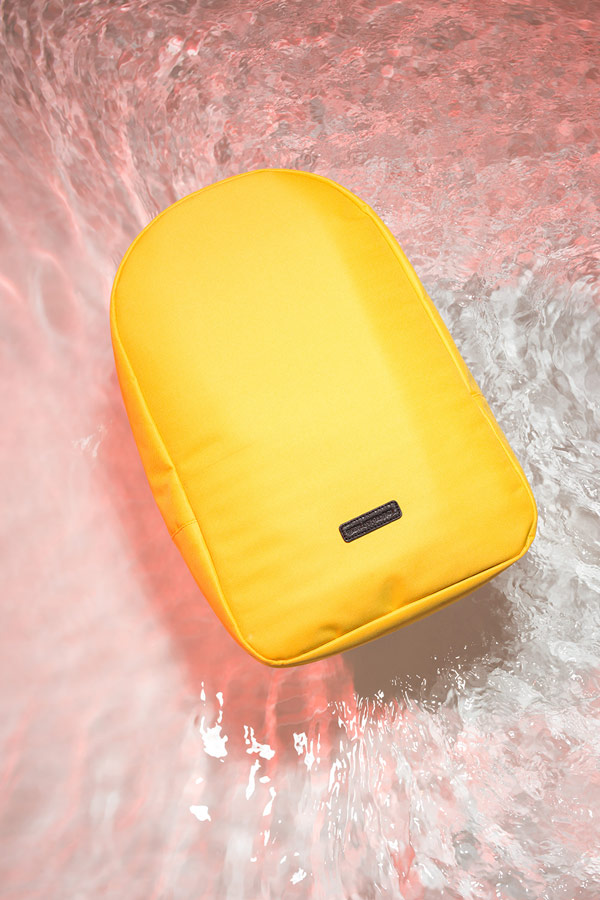 Ucon Acrobatics — žlutý batoh — Marvin Backpack — nepromokavý — waterproof, vegan, sustainable, urban — jaro/léto 2018