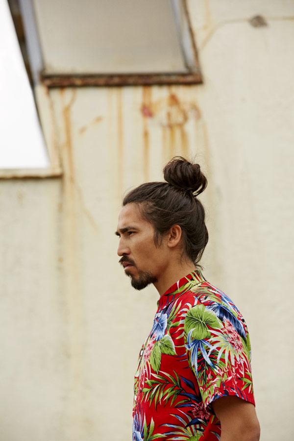 RVLT — pánská barevná letní košile s krátkým rukávem — — jarní/letní oblečení — pánská móda — Revolution