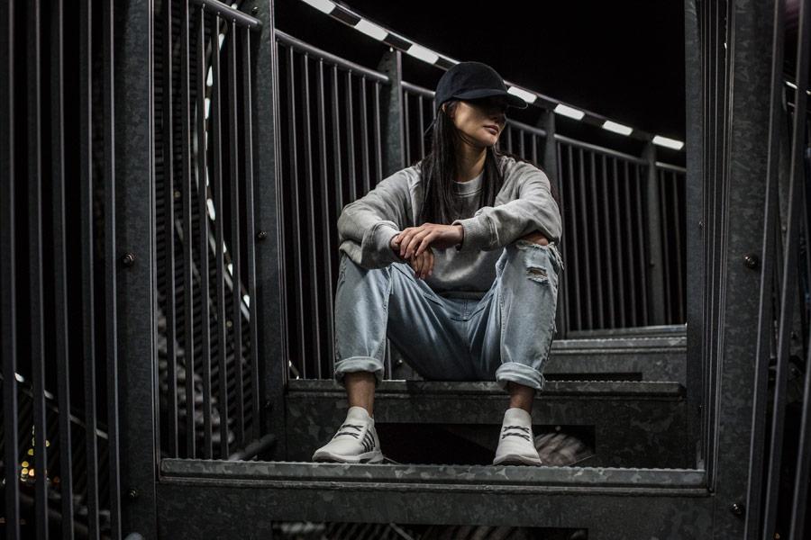 ARKK Copenhagen — Spyqon — boty — tenisky — světle šedé — pánské, dámské — mens and womens sneakers — světle šedé