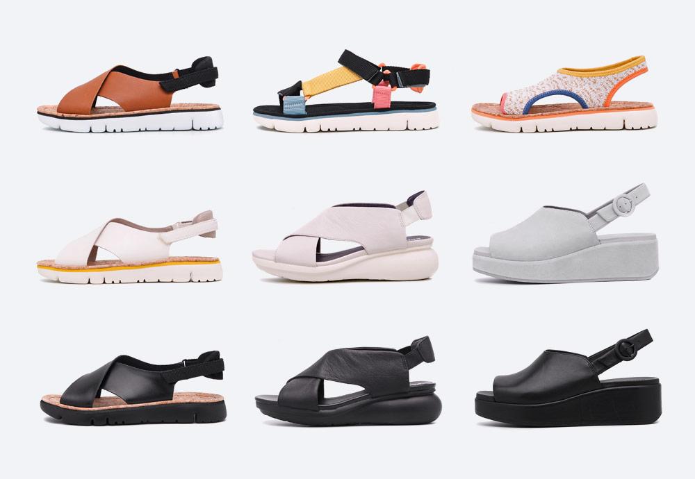 Camper — sandály — dámské — letní