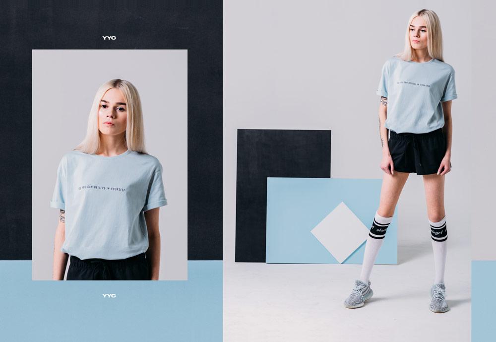 Elade Grl — Pastel Square — dámské oblečení — streetwear fashion