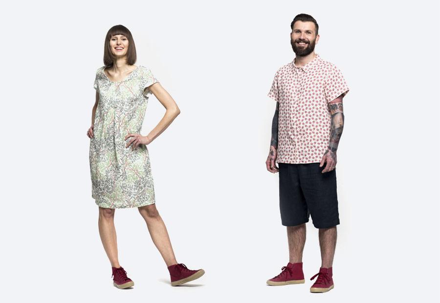 Oblečení ze lnu české značky K.BANA — jaro/léto 2018