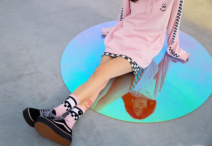Vans x Lazy Oaf — dámské boty a oblečení