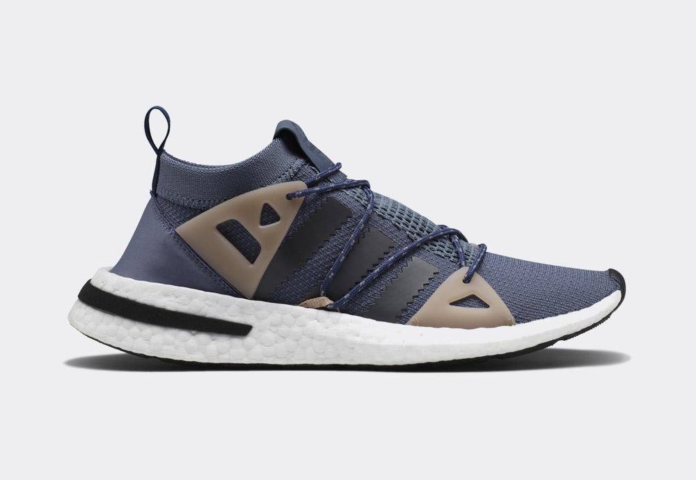 adidas Originals Arkyn — tenisky — šedo-modré — womens sneakers — blue/grey — shoes