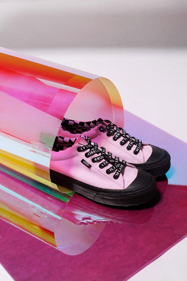 Vans x Lazy Oaf — růžové boty Style 29 — dámské