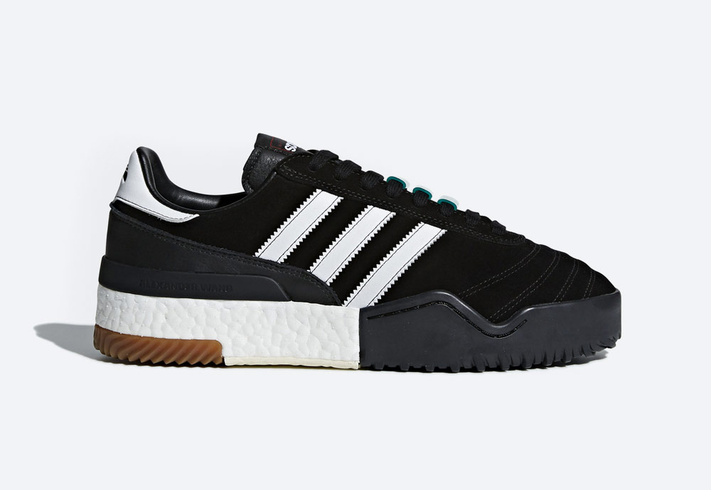 adidas Originals by Alexander Wang — Soccer — černé boty — tenisky — sneakers — dámské, pánské