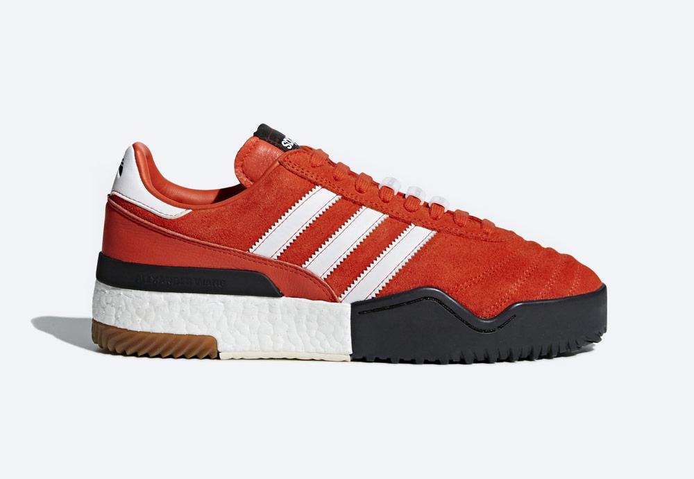adidas Originals by Alexander Wang — Soccer — červené boty — tenisky — sneakers — dámské, pánské