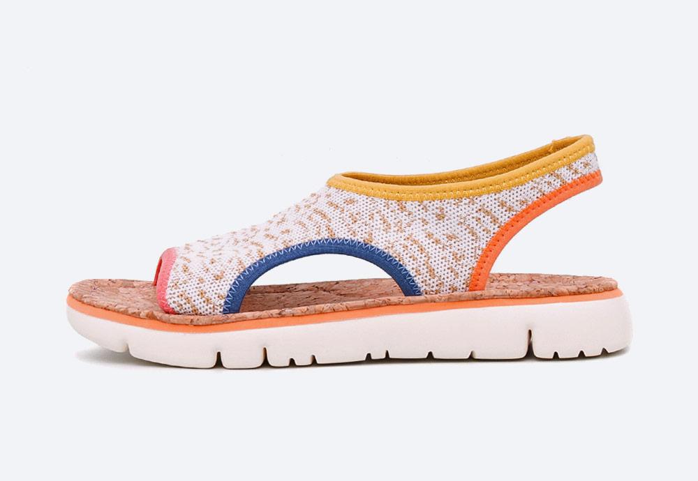 Camper — Oruga — sandály — dámské — letní — barevné — textilní