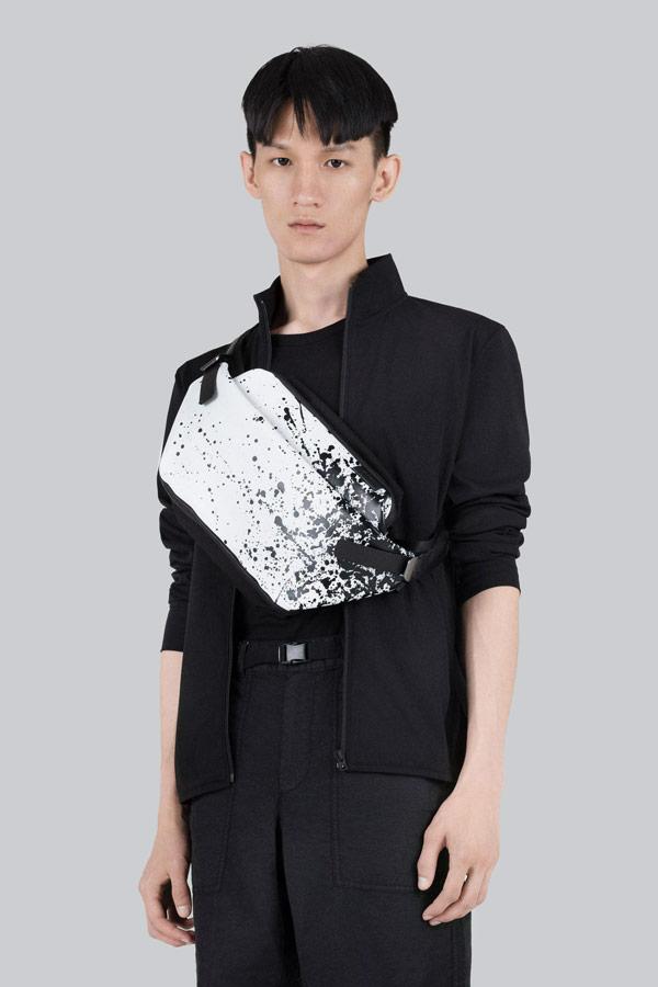 Côte&Ciel — ledvinka se skvrnami — Isarau — bílá/černá — luxusní — sustainable